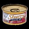 """Консервы """"Stuzzi Gold"""" 85г д-кошек кусочки курица"""