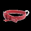 Ошейник COLLAR GLAMOUR кожанный красный ш-25мм/д-38-49см (CL33043)