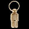 TRIXIE Медальон-брелок адресник золотой (2278)