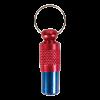 TRIXIE Медальон-брелок адресник сине-красный (2279)