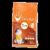 """Наполнитель """"Van Cat"""" комкующийся аромат апельсина (без пыли) 10кг"""