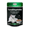"""Влаж. корм """"Джина"""" 80г пауч д-кошек тунец - овощи в густом соусе"""