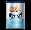 """Влажный корм """"Хеппи Кэт"""" 100г пауч д-котят кусочки в желе курица-морковь"""
