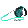 Рулетка Triol + Flexi Colour blue S 5м до 12кг трос (FDL028)