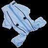 АрниДог Дождевик с молнией на спине голубой (LPF0015-1-XS)