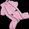 АрниДог Дождевик с молнией на спине розовый (LPF0015-2-XS)
