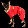 АрниДог Комбинезон Burberry Красная с капюшоном (В0005-2-XS)