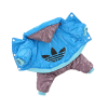 АрниДог Комбинезон Adidas голубой зимний (Н-088-M)