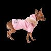 АрниДог Куртка  JUICY розовая с юбкой на флисов.под. с капюшоном (JA070-2-XS)