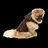 "Жилетка ""АрниДог"" Louis Vuitton коричневая с корманами (LA035-1-S)"