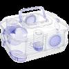 Золюкс Клетка Rody Mini д-грызунов сиреневая 33*21*18 (205837)