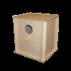 Домик гнездовой деревянный д-птиц складной (И-601)