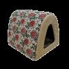 """Лежанка """"Дом-Туннель"""" №1 лён-мебельная ткань 40*34*34 (76331)"""