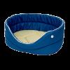 """Лежанка """"Морская"""" оксфорд водоотталк. №1 40*27*16см (75601) синий-бежевый"""