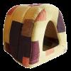 """Лежанка """"Дом-Туннель"""" №2 мебельная ткань 50*42*35см  (76042)"""