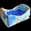 """Лежанка """"Кроватка"""" №2 мебельная ткань 56*41*25см (75182)"""