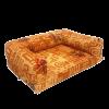 """Лежанка """"Диван"""" №2 со съемным чехлом мебельная ткань 52*69*18см (75232)"""