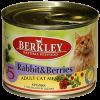 """Консервы """"Беркли"""" 200г д-кошек кролик с лесными ягодами"""
