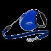 Triol Рулетка + Flexi Standart  blue S 5м до 12кг трос (FDL001)