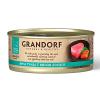 """Консервы """"GRANDORF"""" 70г д-кошек 75% тунец-мясо лосося"""