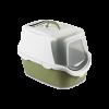 """Stefanplast Туалет-домик """"Cathy Easy Clean"""" с угольным фильтром  56*40*40 зеленый (23181)"""