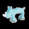 """ЗоЛюкс Игрушка """"Носорог"""" латекс.голубая 22см (479322BLE)"""