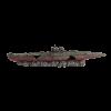 """Аквадекор ArtUniq Композиция """"Затонувшая подводная лодка"""" 19,5*2,7*4см  (ART2290191)"""