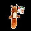 """GiGwi Игрушка """"Белка"""" с большой пищалкой ,иск. мех 32см д-собак (280,75015)"""