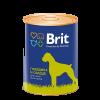 """Консервы """"Брит"""" Premium 850г д-собак с говядиной и печенью"""