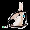 """Kitty City игровой комплекс д-кошек """"Белая гора"""" с когтеточкой 44*45*45см сизаль"""