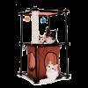 """Kitty City игровой комплекс д-кошек """"Биг Бен"""" с когтеточкой 79*45*45см сизаль"""