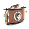 """Kitty City игровой комплекс д-кошек """"Сонное царство"""" с когтеточкой 44*45*45см сизаль"""
