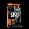 "Сухой корм ""Гоу"" Skin + Coat Grain Free Б/З 3,63кг д-котят/кошек лосось 30/14"