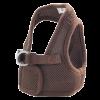 Triol Шлейка - жилетка с поводком мягкая коричневая (HL-03 М)