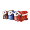 """Сумка-переноска """"Догман"""" модельная д-животных №8 мех (розовая) 35*15*27см"""