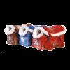 """Сумка-переноска """"Догман"""" модельная д-животных №8 мех (красная) 35*15*27см"""