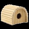 ГАММА Домик деревянный полукруглый для грызунов
