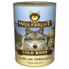 "Консервы ""WolfsBlut"" Cold River ""Холодная река"" 395г форель-треска-палтус д-собак"