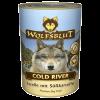 """Консервы """"WolfsBlut"""" Cold River """"Холодная река"""" 395г форель-треска-палтус д-собак"""