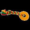 """DogLike Игрушка """"Кольцо Мини"""" д-собак 69мм*23мм желтый (D11-1110)"""