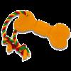 """DogLike Игрушка """"Кость Большая с канатом"""" д-собак 400мм*84мм*18мм (D11-1117)"""
