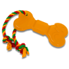 "DogLike Игрушка ""Кость Большая с канатом"" д-собак 400мм*84мм*18мм желтая (D11-1117)"