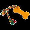"""DogLike Игрушка """"Кость Малая с канатом"""" д-собак 35*5.6*1.3cм (D11-1099)"""