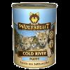 """Консервы """"WolfsBlut"""" Cold River Pappy """"Холодная река"""" 395г форель-треска-палтус д-щенков"""