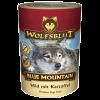 """Консервы """"WolfsBlut"""" Blue Mauntain """"Голубая гора"""" 395г дичь-картофель д-собак"""
