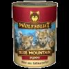 """Консервы """"WolfsBlut"""" Blue Mauntain Pappy """"Голубая гора"""" 395г дичь-картофель д-щенков"""