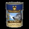 "Консервы ""WolfsBlut"" Wild Pacific ""Дикий океан"" 395г 6-рыб-морепрод-батат д-щенков крупн.пор"