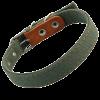 ГАММА Ошейник брезентовый 25мм двойной (Цп-10400 )