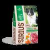"""Сухой корм """"SIRIUS"""" 15кг д-взрослых собак говядина-овощи"""