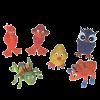 """Karlie-Flamingo Игрушка д-собак """"Животное"""" в ассортименте 10*9,5*10см латекс дизайн"""